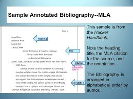 Best Photos of Chicago Style Annotated Bibliography   Annotated