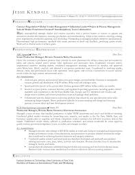 Resume Examples  Sample Resume For Production Manager  provide     longbeachnursingschool     Resume Examples  Contract Negotiations Objective Sample Resume For Production Manager With Professional Experience  Sample
