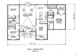 Ranch Home Plans With Pictures Ranch House Floor Plans With Walkout Basement U2014 Harte Design