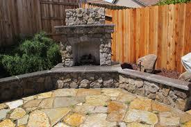 Modern Home Design Ideas Outside Modern House Design Ideas With Nice Garden Wall Fireplace Outside