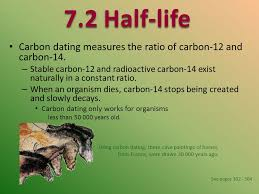 Carbon dating measures the ratio of carbon    and carbon     SlidePlayer