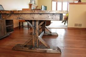 Antique Dining Room Tables by Barn Wooden Farmhouse Dining Room Table With Armless Antique