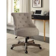 Upholstered Swivel Desk Chair by Fabric Office Chairs You U0027ll Love Wayfair