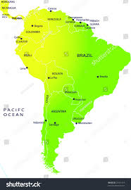 Political Map Of Latin America by Map Of North And South America Political Map Worldofmapsnet South