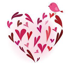 ハート イラスト 可愛いイラスト無料 ハート 紙吹雪 − free illustration Heart ...