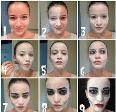 easy scaryevil clown halloween makeup tutorial youtube loversiq