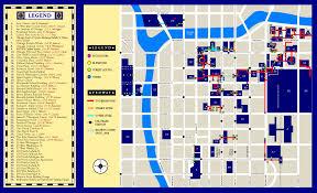 Grant Park Chicago Map by Pedway Map Park Millennium