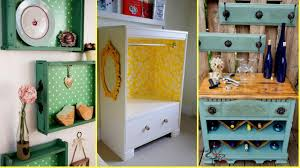 Recycle Home Decor Ideas Diy Repurposed Old Drawers Ideas Recycled Furniture Home