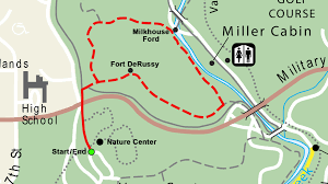 Fort Stevens State Park Map by Rock Creek Park Milkhouse Ford Loop Hike