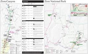 Where Is Terlingua Texas On A Map This Is A Trail Map And Guide Of Zion National Park You Can