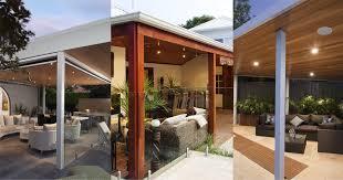 Enclosing A Pergola by Alfresco Blinds And Doors Designs U0026 Ideas Patio Living