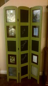 Room Divide by Repurposed Photo Room Divider With Chalkboard Panels Https Www