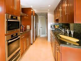 kitchen good galley kitchen design inspiration with wooden