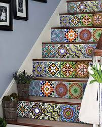 ab2 set of 24 vintage traditional mexican tiles decals bathroom