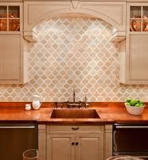 Kitchen Marble Backsplash Tumbled Marble Backsplash Kitchen Traditional With Artisan Tile