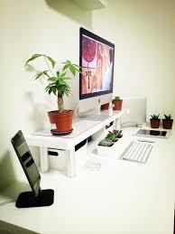 Office Desk Plants by Desk With Plants Mac Desks