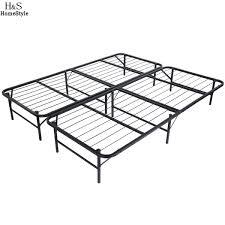 Mattress Foundation King Aliexpress Com Buy Homdox King Size Metal Folding Platform Bed
