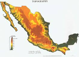Sierra Madre Occidental Map Mexico Earth Map