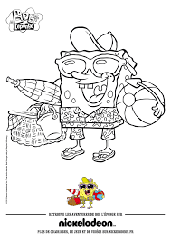 sandy cheeks the squirrel from texas coloring pages hellokids com
