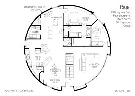 floor plans multi level dome home designs monolithic dome institute