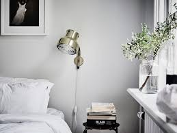 Mood Lighting Bedroom by Monday Mood The Perfect Contrast Light Gray Walls Bedroom