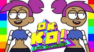 coloring enid cartoon network ok k o let u0027s be heroes coloring