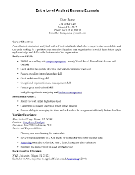 career objective example resume resume objective examples for entry level jobs frizzigame entry level job resume free resume example and writing download