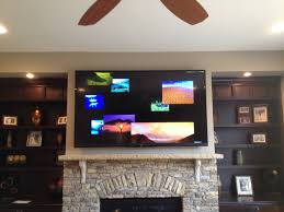 home theater installer 80 inch sharp aquos tv wall mounting service charlotte home