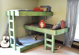 Plans For Building Bunk Beds by 2 4 Bunk Bed Plans Bed Plans Diy U0026 Blueprints