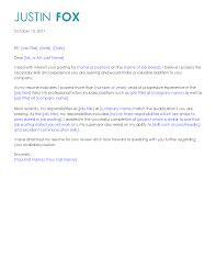 Cover Letter For Library Job by Get The Job With These Professional Cover Letter Templates Cover