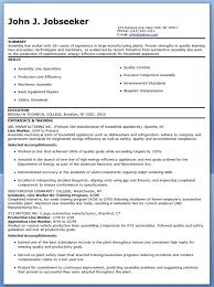 Examples Of Creative Resumes by Production Line Worker Resume Examples Creative Resume Design