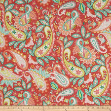 riley blake home decor sweet floral red discount designer fabric
