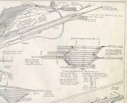 penn station pathfinder maps u0026 models railroad track u0026 tunnel maps