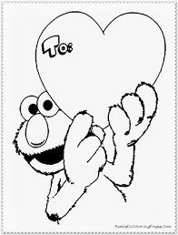 100 coloring page elmo just sesame street elmo coloring page