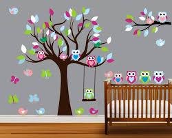 Tree Decal For Nursery Wall by Best Nursery Wall Decals Ideas U2014 Luxury Homes