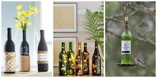 wine bottle crafts diy wine bottles