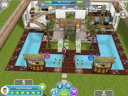 Home Design Cheats Iphone Alec Lightwood U0027s Two Storey Two Pool House The Entrance Sims