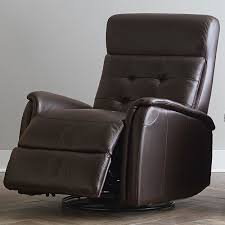 Swivel Recliner Chairs For Living Room Tufted Back Glider Recliner