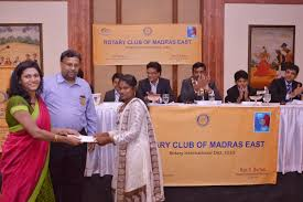 Blogs   Avanti Fellows Recognizing the hard work and determination showcased by these students Mr Murugavel Selvan from Rotary Club of Madras East awarded Sivan Arul Selvan  SAS
