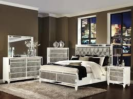 Elegant Quilted Headboard Bedroom Sets  For Leather Headboard - White tufted leather bedroom set