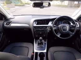 audi a4 2 0 b8 tdi cr se executive diesel manual 2008 5dr 11