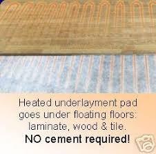 heated floors under laminate thermosoft electric radiant floor heating for laminate or hardwood