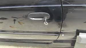 how to replace a car door handle 1 2 hyundai accent youtube