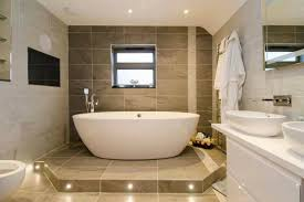 Choosing New Bathroom Design Ideas  Large Dark Brown Bathroom - New bathrooms designs