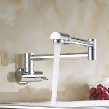 Kitchen Faucets Ebay by Eyekepper Brass Kitchen Wall Mount Single Handle Pot Filler Faucet