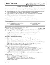 Office Assistant Resume Sample by Example Of Administrative Assistant Resume Free Resume Example
