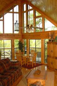 Log Homes Interior Designs 59 Best Lakefront Interior Images On Pinterest Architecture