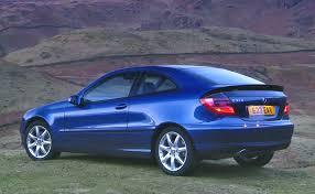 mercedes benz c class sports coupé review 2001 2008 parkers