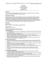 Aaaaeroincus Fascinating Example Objective In Resume Example