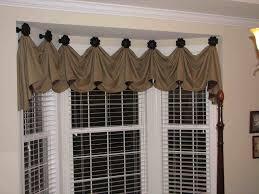 window modern window valance swag kitchen curtains valance ideas
